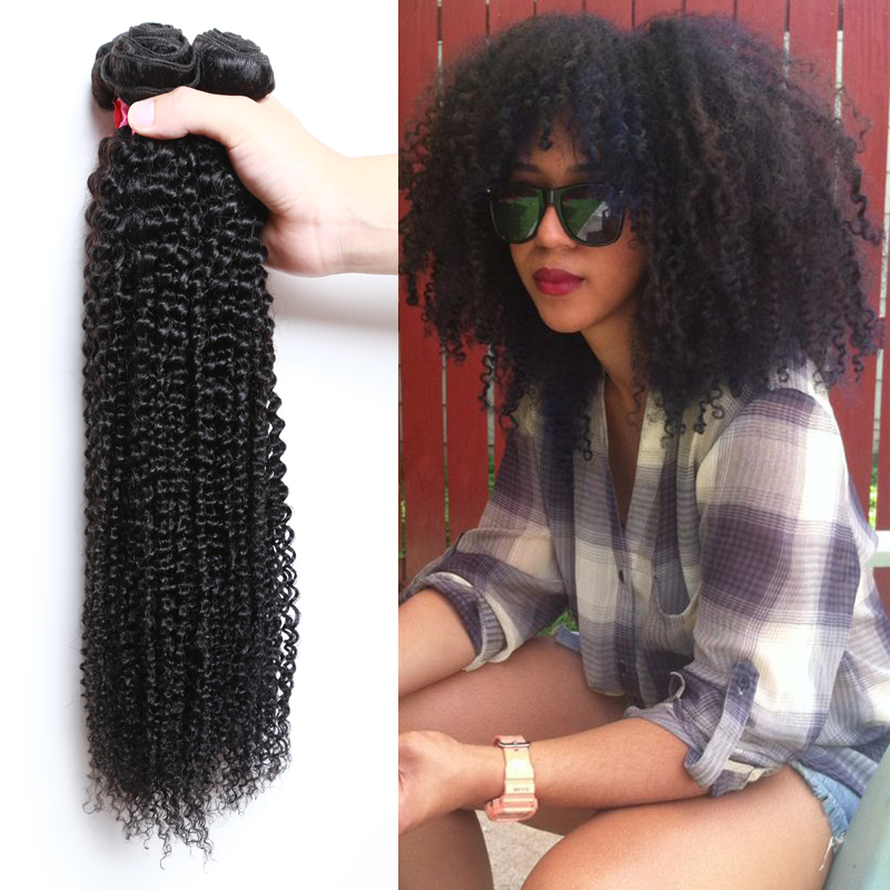 Afro Kinky Human Hair For Weaving Prices Of Remy Hair
