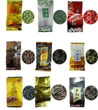 9 Different Flavors Famous Tea Chinese Tea Oolong Green Goji herbal puer Black Tieguanyin Lapsang souchong DahongpaoTea gift(China (Mainland))