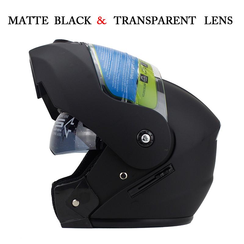 New Arrivals Best Sales Safe Flip Up Motorcycle Helmet With Inner Sun Visor Everybody Affordable Double Lens Motorbike Helmet(China (Mainland))