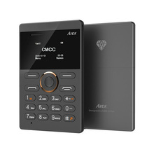 Discount!2016 New Ultra Slim Card Phone AIEK E1 Cell Phone Mobile GSM Bluetooth English Russian Arabic Keyboard Multi Language(China (Mainland))