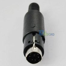 Alta calidad a estrenar el 10Ft 3 m 3.5 mm DC 4 Pole a macho en espiral espiral de Audio Aux Cable chapado en oro