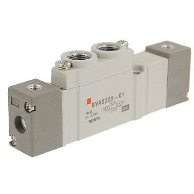 High quality 3 Position Closed Center 5 Ports Pneumatic Valve Free shipping(China (Mainland))