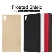 Buy Nillkin Frosted Shield Phone Case Sony Xperia Z5 Premium Back Cover Sony Z5 Plus/E6853 Hard Matte Case+ Screen Protector for $7.19 in AliExpress store