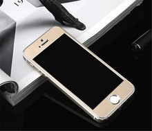 "2016 new Full Cover Set 3D Arc 9H Alloy Titanium Tempered Glass Screen Protector Film for iPhone 6 6S 4.7""/6 Plus/6S Plus"