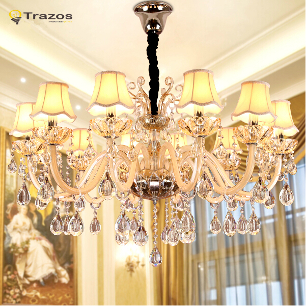 Buy Modern Crystal Chandelier Living Room Lustres De Cristal
