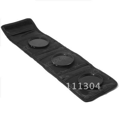 FREE SHIPPING+TRACKING NUMBER 58mm ND2 ND4 ND8 Neutral Density Filters +3pcs bag For Canon 500D 550D 600D 1100D kit