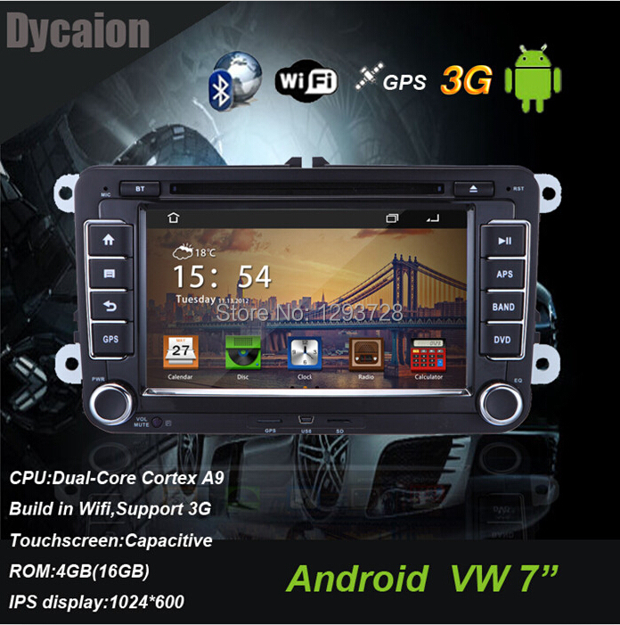 2 din volkswagen car multimedia station vw golf/car radio vw/car dvd vw golf(China (Mainland))