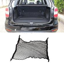 New Car Auto Mesh Cargo Net Holder Trunk Elastic Storage with 4 Hook Accessories Universal #SA10326(China (Mainland))
