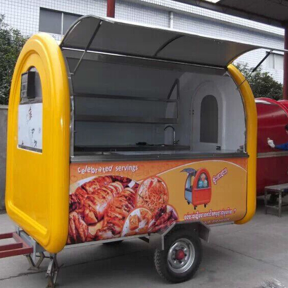 Churros cart ice cream vans used mobile kitchens for sale
