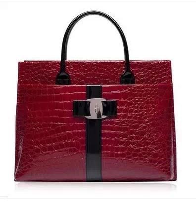 NEW Fashion PU leather Retro Pack Handbags Women Alligator Clutch Bag Messenger Shoulder Bags Women PU Bag Promotion(China (Mainland))