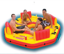 INTEX water sports Inflatable swimming float swimming ring water Float Seat large water toys Air Mattress inflatable water chair(China (Mainland))