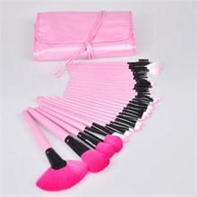 2014 New High Quality Makeup Tools Lovely 32Pcs Makeup Brushes Pricess Pink Soft Makeup Brush Sets