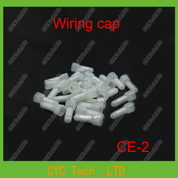 1000pcs CE-2 UL Nylon Wire Pressing Cap,Closed terminal Security Line Cable Pressing Cap,Terminal Connection Cap(China (Mainland))
