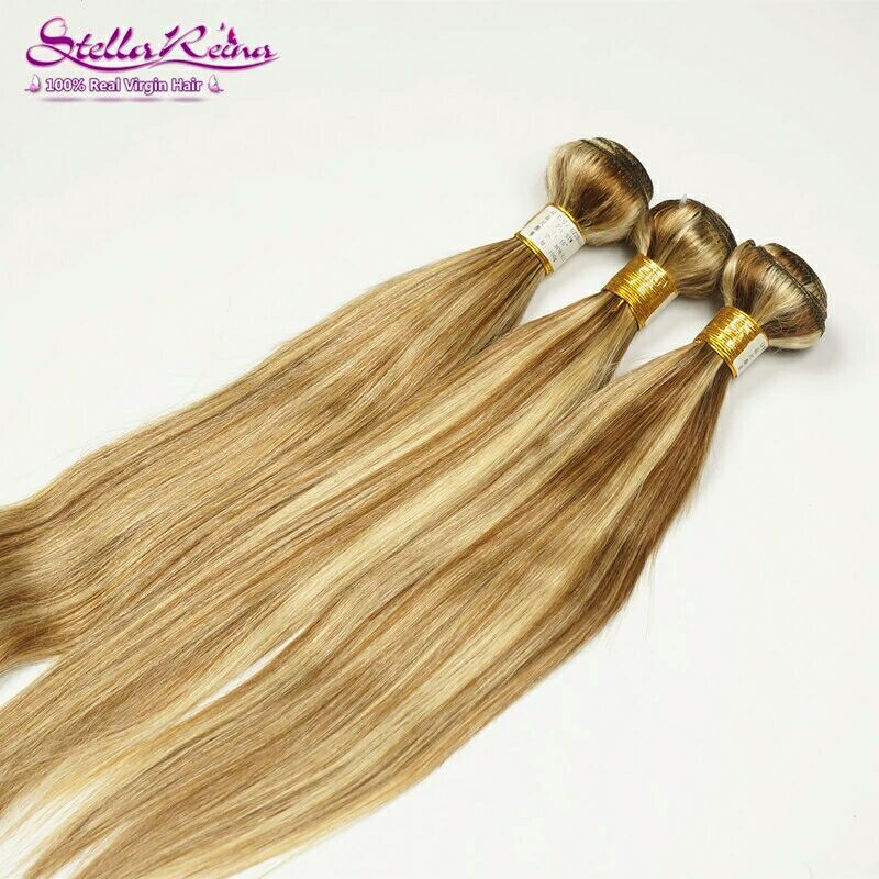 100% human hair weaves 2 pcs 28, 1pcs 26 and 1pcs 24  curly all  in color  #8 mixed with #27 plus 13x4inch  lace frontal closure<br><br>Aliexpress