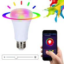 Xenon Wi-Fi Bulb smart wreless bulb app control RGB E27 LED Lamps HOT sale Smart led Lighting Bulbs Works with Amazon echo Alexa(China (Mainland))