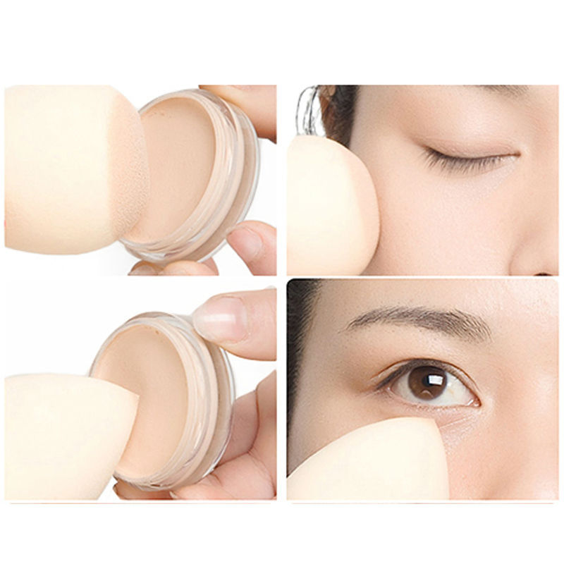 10Pcs/Lot Makeup Foundation Sponge Blender Blending Cosmetic Puff Flawless Powder Smooth Beauty Make Up Tool #8828