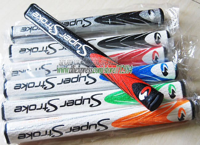 HOT 2014 New golf club Ultralight Big Grip super stroke 55 85 putter grips 10pc/Lot 6color Can mix color EMS