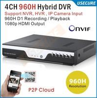 CCTV Видеорегистратор USECURE 24ch h.264 DVR HDMI 1080P 24ch NVR Onvif CCTV DVR US-9324HE