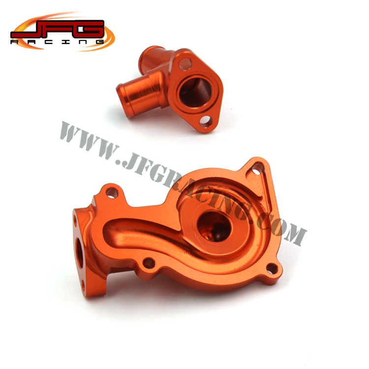 Billet CNC Aluminum Engine WATER PUMP COVER FOR ZONGSHEN NC250 NC 250CC Water Cooled Engine