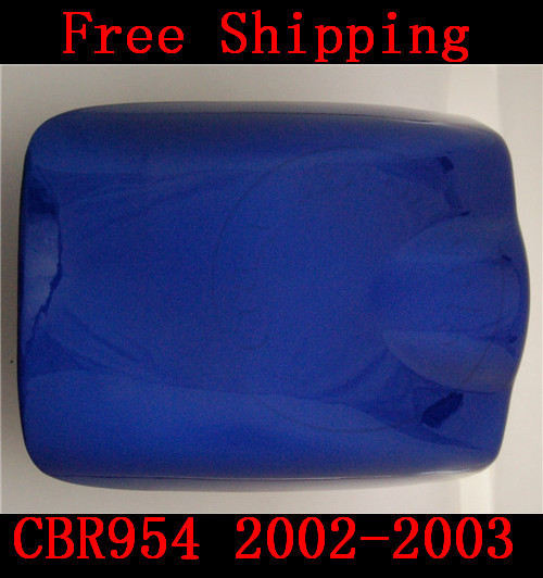 For Honda CBR 954 CBR954 2002-2003 motorbike seat cover Brand New Motorcycle Blue fairing rear sear cowl cover Free Shipping