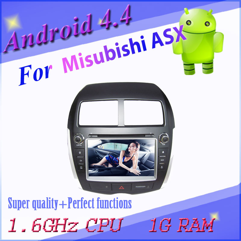 1024*600 Android car DVD MITSUBISHI ASX/PEUGEOT 4008/CITROEN C4 3g wifi gps navigation radio bt map
