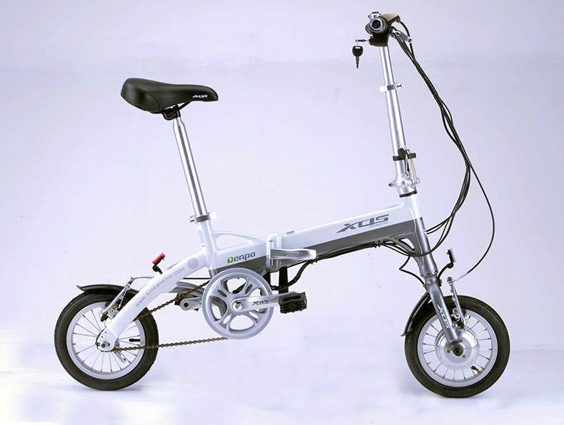 Free shipping lithium battery electric moped mini folding electric lithium electric bicycle Lithium battery bike(China (Mainland))