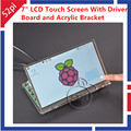 7 Inch TFT LCD Module 1024 600 Touch Screen Driver Board HDMI VGA 2A for Raspberry
