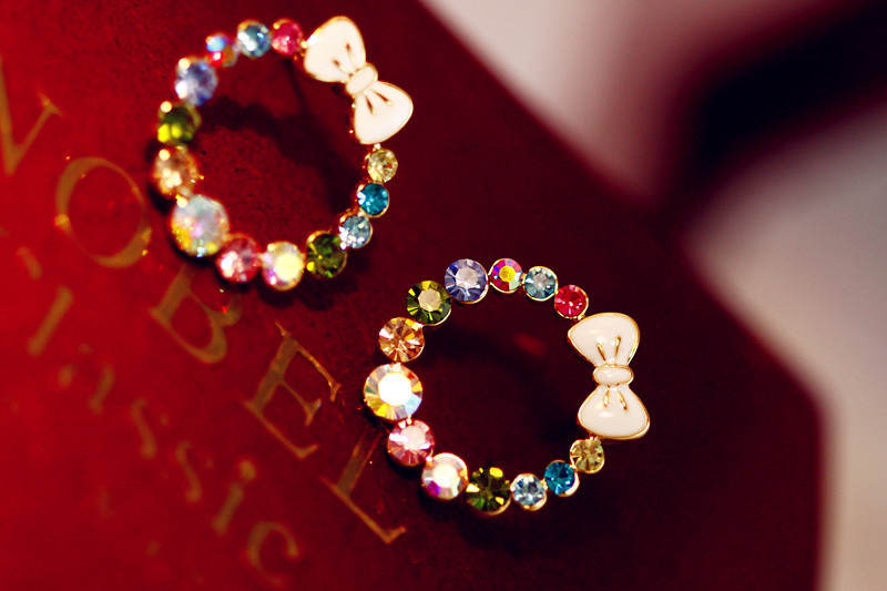 e64 New Fashion  Bohemian Fashion Jewelry 2015 Vintage colorful flower dangle earring  Drop earrings for women gift<br><br>Aliexpress