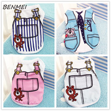 Buy BENMEI Dog Clothes Spring/Summer Small Dog Clothes Chihuahua Clothing T shirt Pet Vest Puppy Lattice Printed Popa Para Perros for $4.37 in AliExpress store