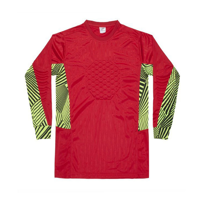 Top quality 16 17 Football soccer goalkeeper Long-sleeved jerseys Men goalkeeper Soccer training tops quick dry jeresys for men(China (Mainland))