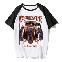 Nuovi Uomini di Satana T Camicia Demone Morte Spaventoso Male Hip Hop Satanismo Grim Reaper Male T-Shirt Psychedelic orrore Maglietta Maschio /femmina(China)