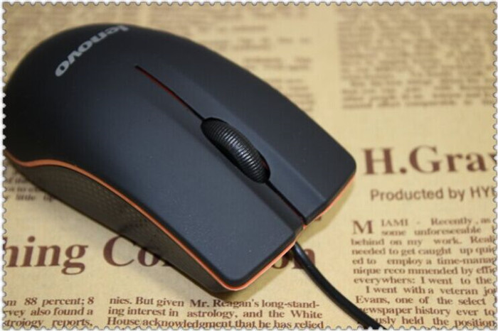 The Original lenovo Laser gaming mouse Wired Mouse For Desktop Laptop mouse for gamer player And Personal Computers mice(China (Mainland))