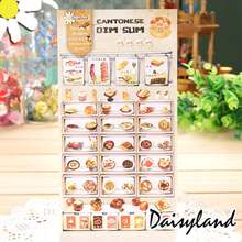 Buy 1xDaisyland Desert Shop adhesive paper sticker decorative DIY scrapbooking sticker post kawaii stationery for $1.01 in AliExpress store