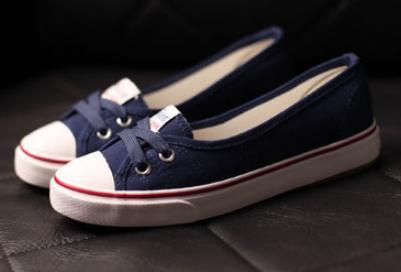 Shallow mouth spring belle older summer canvas shoes female casual pedal lazy cotton-made flat single - Online Store 331468 store
