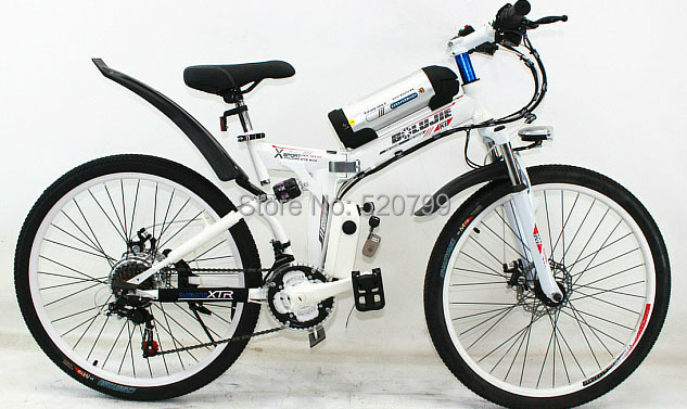 Full suspension mountain bike folding bicycle scooter lithium battery car downhill mountain bikes