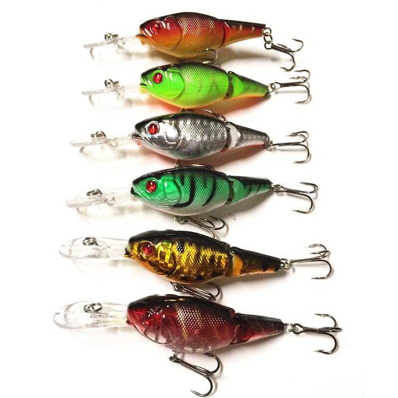 Гаджет  2014 pesca Free shipping 5 pcs/lot fishing lures fishing bait minnow bass lure fishing tackle 6.4CM/14G lures for fishing bait None Спорт и развлечения
