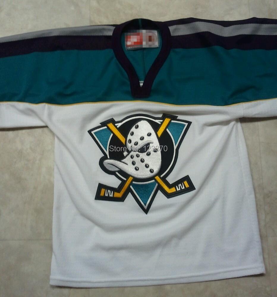 Custom Throwback Anaheim Mighty Ducks JERSEY cheap authentic sports jerseys 90S RAVENSSS Jersey Custom Any name/NO./SIZE<br><br>Aliexpress