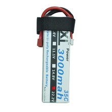 XXL 22.2V 3000mAh 35C 6S Max 70C Rechargeable LiPo Battery for RC Helicopters Remote Control Toys Boats Cars