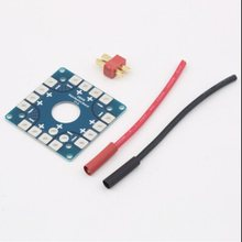 Quadcopter Connection Board Multi Copter Power Battery ESC Distribution Board(China (Mainland))