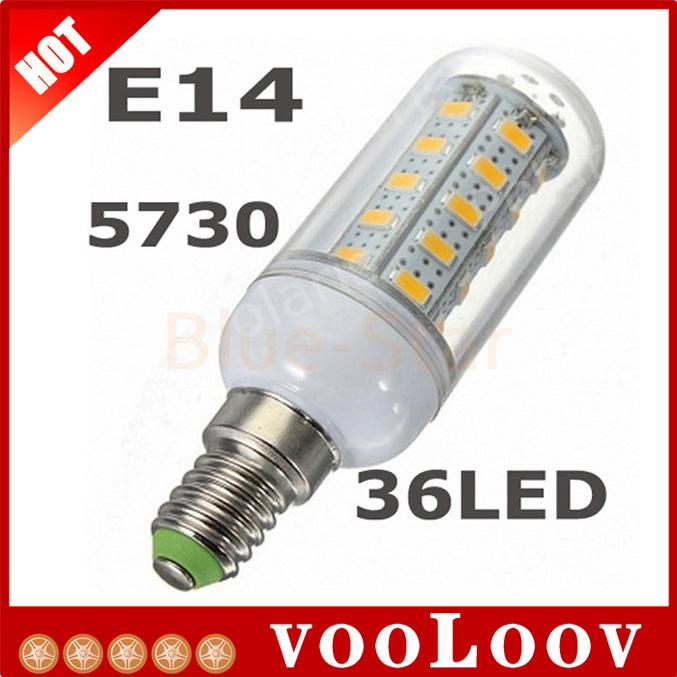 2015 Real Energy 5730smd Ceiling Lights 220v E14 Corn Bulbs 36leds Lamps Spotlight Chandelier Diamond Surface Light 10pcs/lot ~i(China (Mainland))