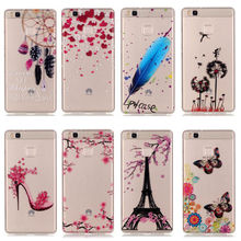 2016 Soft TPU Protector Case Huawei P9 Silicon Back Cover Lite G9 Y625 Painted Patterns Phone Coque Capa - Shenzhen Xiao Pin Trade Co., Ltd store