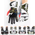 Free shipping GP PRO Top Racing Genuine Leather Gloves Off Road Racing Men Gloves Driving Motorcycle