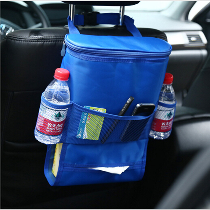 3L Multifunctional Cold Storage Insulation Seat Back Bags Car Seat Storage Pack Moisturizing package Factory Price M0097(China (Mainland))