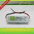 DC 12V 10W Waterproof IP67 LED Driver Power adapter outdoor use for led strip power supply