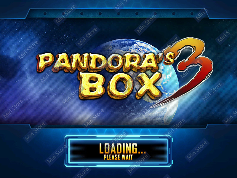 2015 HD Another Pandora's Box 3 arcade cabinet 520 in 1 multi game board fliperama Pandora box 3 jamma games VGA output for LCD(China (Mainland))