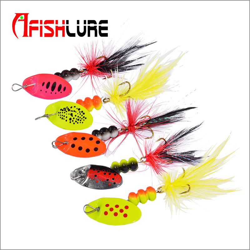 Free shipping selling pesca 6g spinner bait bass baits metal spoon lure spinner lure font b