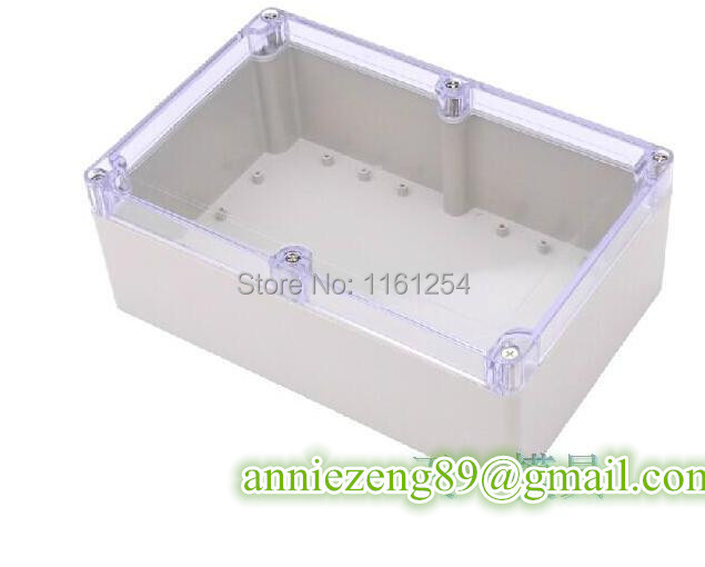 Free Shipping 230*150*85mm clear lid plastic enclosure electricity meter case wholesale and Retail(China (Mainland))