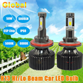 New Design 2PCS Plug Play H13 for Korea CSP Chip LED 50W 5000LM 5000K 6000K with