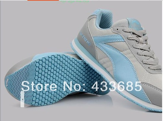 The new 2014 free shipping sneakers authentic autumn running shoes men's shoes for women's shoes couple sneakers(China (Mainland))