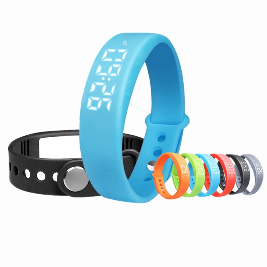 65,W5 Smart Watch Wristband Bracelet Bluetooth Sport Watch Pedometer Calory monitor 3D Pedometer Thermometer Silent Vibration(China (Mainland))